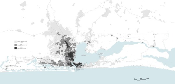 Growth Map of Lagos Source: Lindsay Sawyer