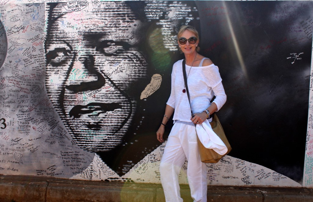 Dawn Jorgensen in Johannesburg (photo by Dawn Jorgensen)
