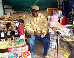 Informal trader in Cape Town. Credit: City of Cape Town