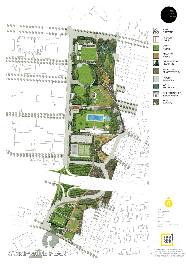 Composite plan by Square One Landscape Architects
