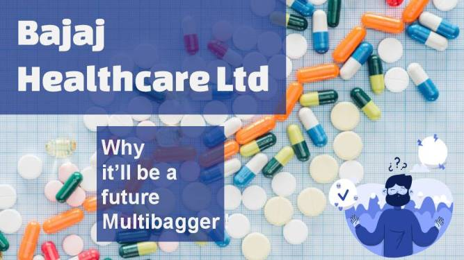 Bajaj Healthcare Ltd is an India-based pharmaceutical company. The Company is engaged in the production of bulk drugs and pharmaceutical products.
