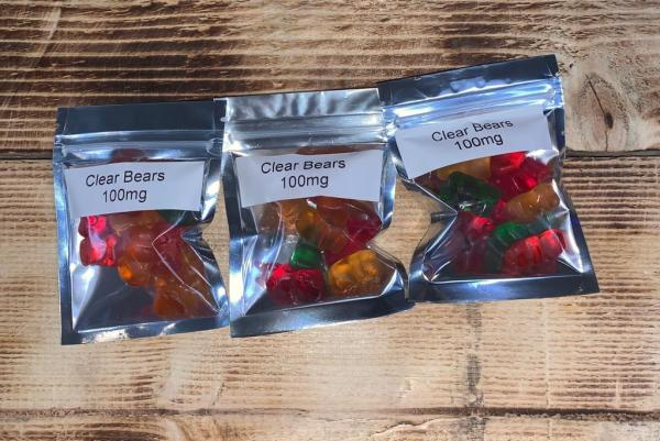 CBD Clear Bears (100mg)