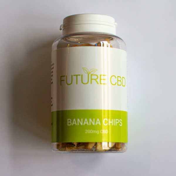 CBD Banana Chips (200mg) 2