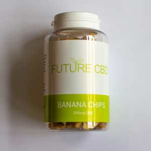 CBD Banana Chips (200mg) 2