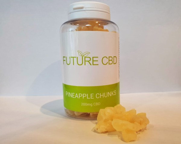 CBD Pineapple Chunks (200mg)