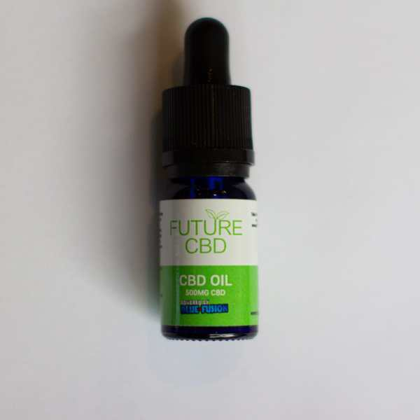 Blue Fusion CBD Drops (10ml:500mg) Broad Spectrum