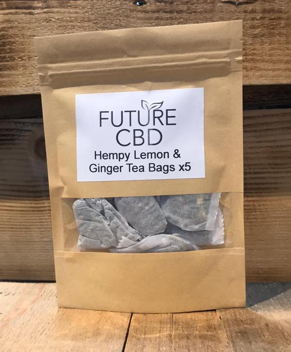Hempy Lemon & Ginger Tea Bags (5pcs)