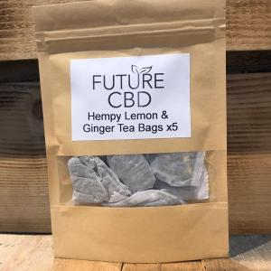 Hempy Lemon & Ginger Tea Bags (5pcs)