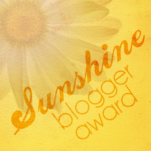 Image result for sunshine blogger award logo