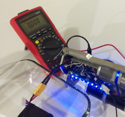 Low Voltage Board Test Setup