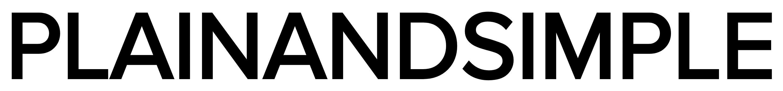 Plain and Simple company logo