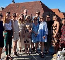 Felicity Lammas and the Global Fashion Agenda team