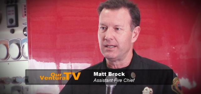 Matt Brock, Firefighter