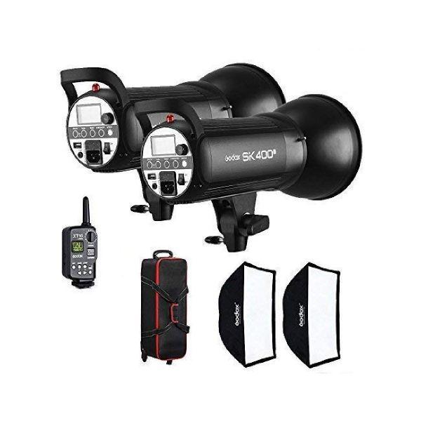godox professional flash light kit sk 400 ii
