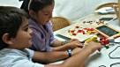 Pupils at creative work - FutureKidsNow