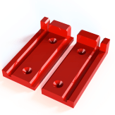 Plastic loaf holder base parts 35mm v1g