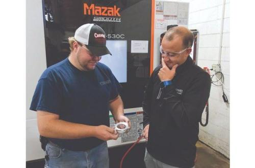Mazak Machining Centers Help Shops Increase Output, Reduce Inspection Times