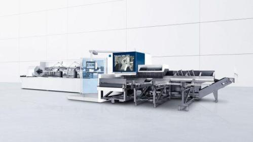 The new TruLaser Tube 5000 now also creates threads in tubes