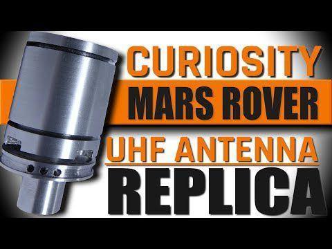 Making a Mars Curiosity Rover Antenna Replica!