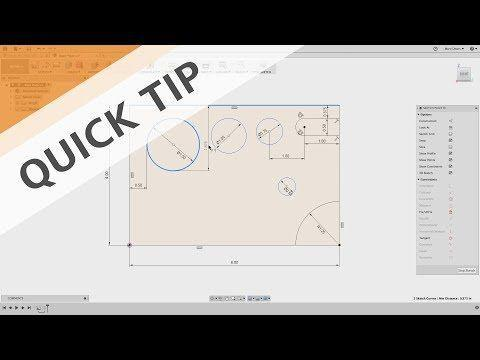 QUICK TIP: Sketch Tangent Dimensions