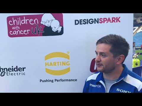 Pre Match – Gareth Boulding