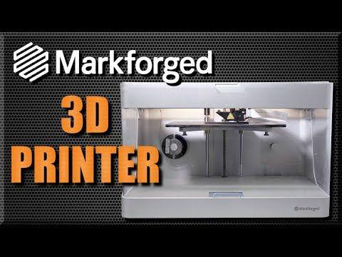 UNBOXING & First Prints: Markforged Mark Two 3D Printer!