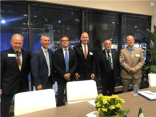 "About One Hundred Italian Companies in the Limelight of IMTS 2018 – 200 guests took part in the traditional ""Italian Night"" at IMTS 2018"