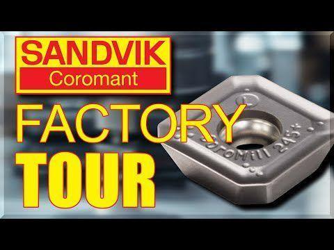 Sandvik Coromant – AMAZING Factory Tour!