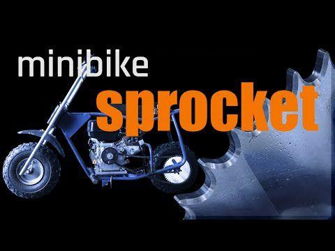 CNC Machined DIY Minibike Sprocket | WW214