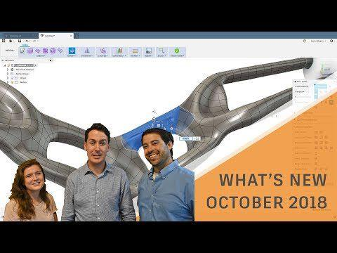 What's New in Fusion 360 October 2018 Update