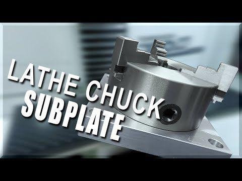 Making a Lathe Chuck Subplate   WW222