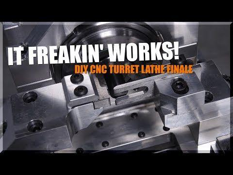 DIY CNC Turret Lathe FINALE! WW225