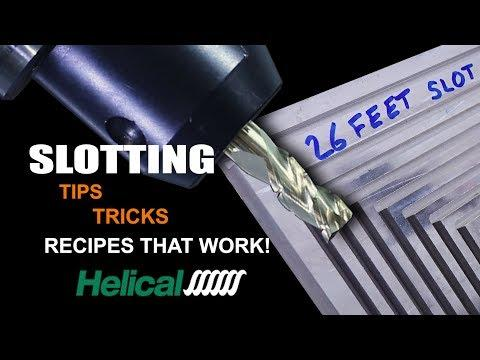 Slotting Aluminum – Tips, Tricks, Speeds & Feeds  | WW235