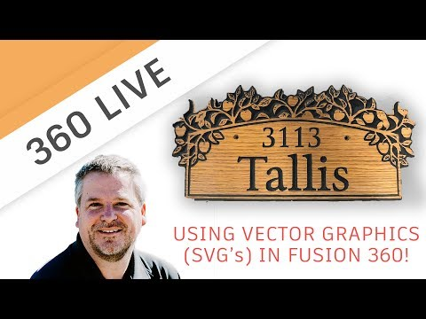360 LIVE: Bringing SVG files into Fusion 360 | FutureLab3D
