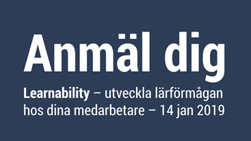 Anmälan program Learnability