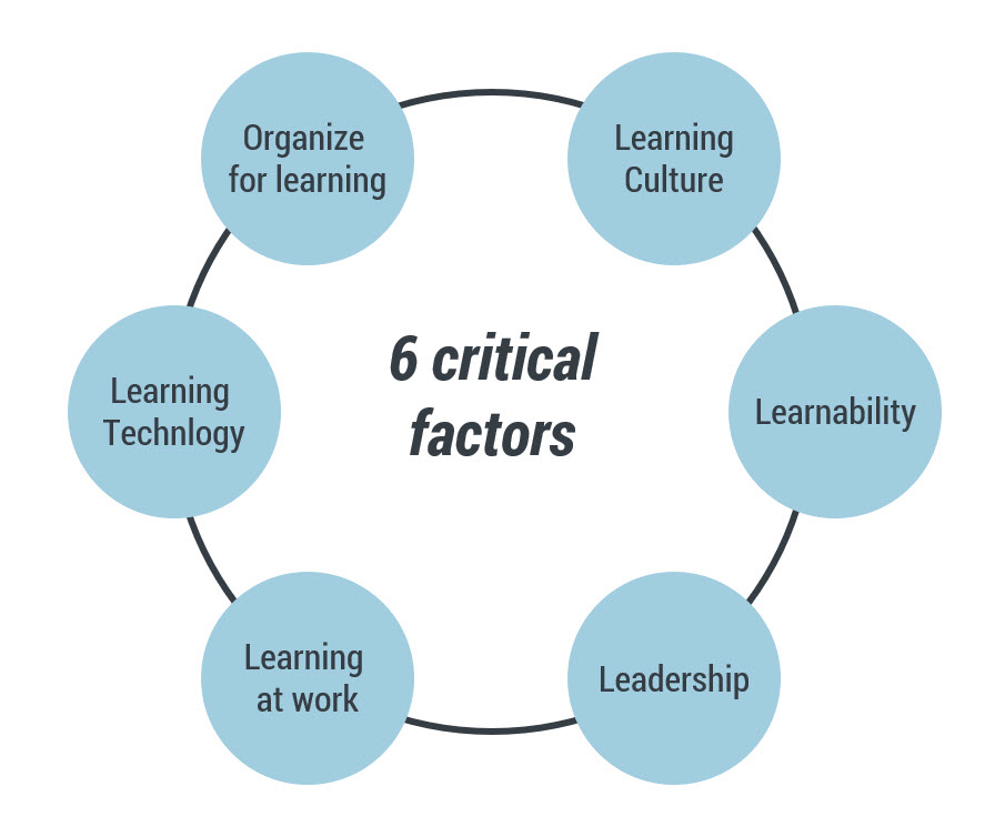 6 critical factors for building a learning organization