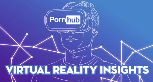 Adult video site PornHub offers data on VR porn searches.