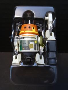 Chopper and his two accessories are attached here to the inner bubble.