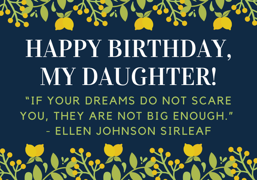 150 Best Birthday Wishes For Your Daughter Futureofworking Com