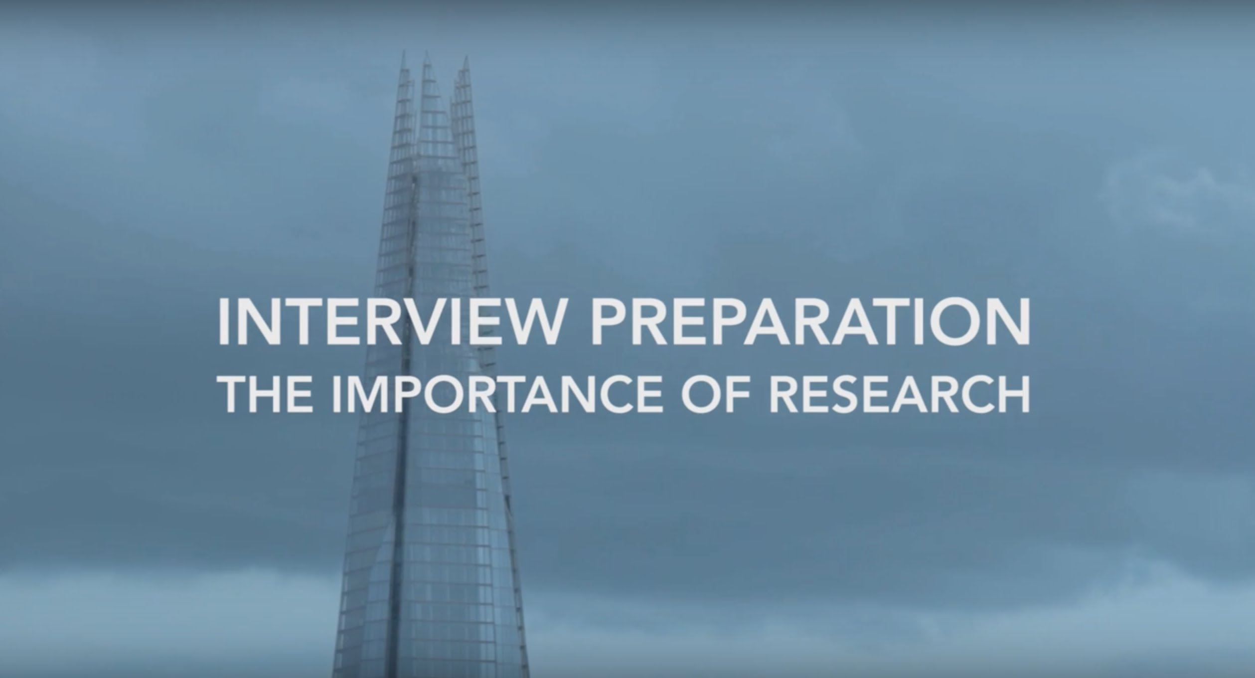 Interview Preparation The Importance Of Research