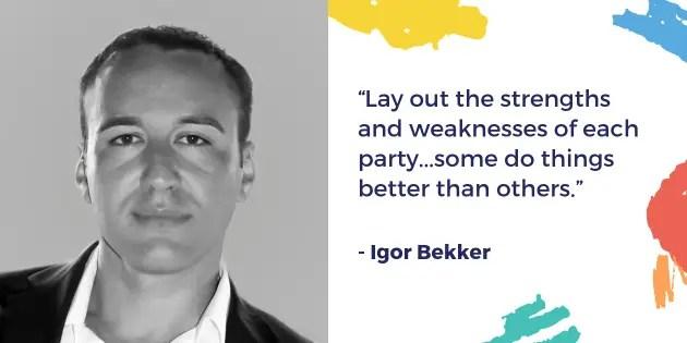 Igor Bekker - 16 Entrepreneurs to Follow in 2019