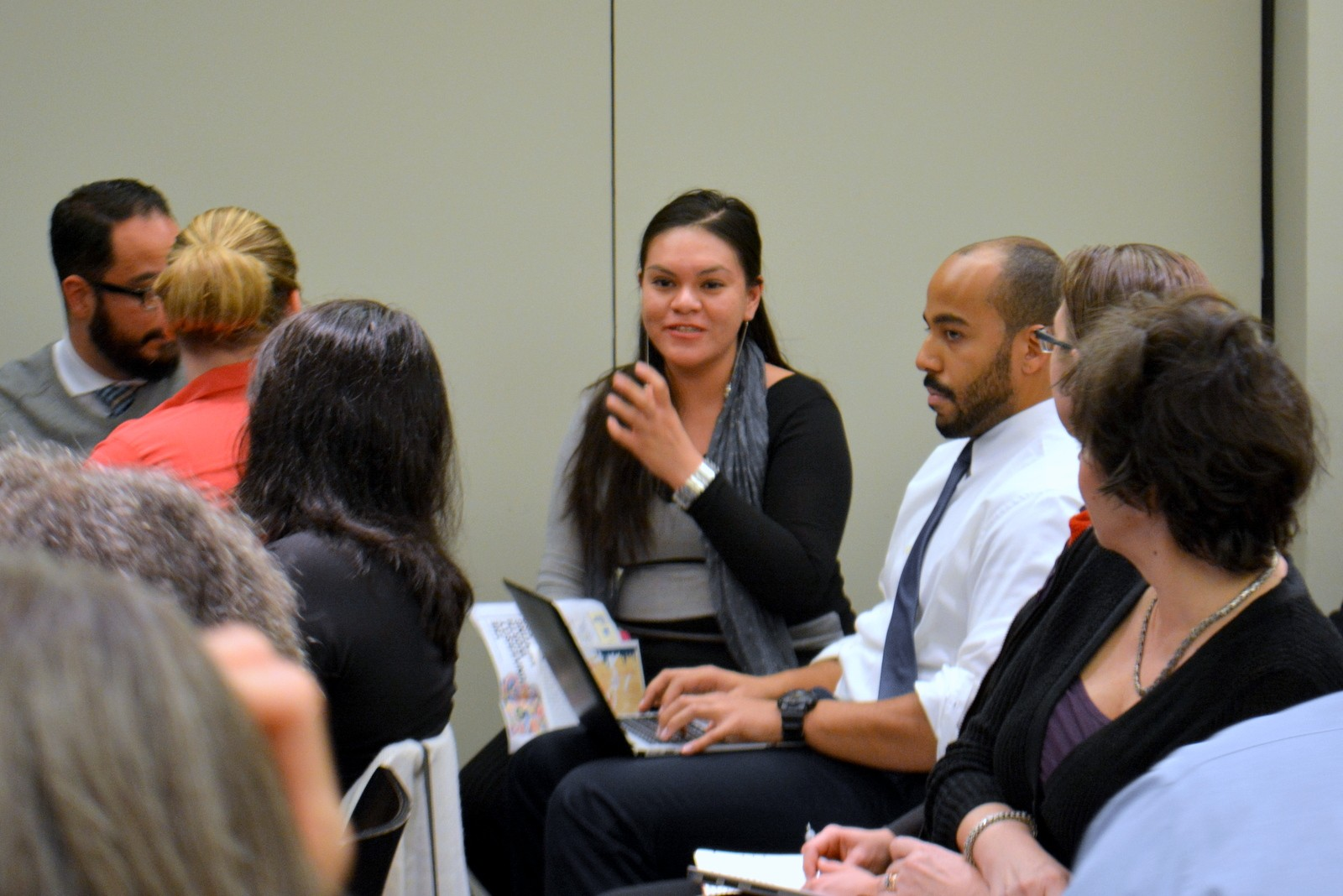 A community college student discusses her experience at the 10/22/15 Futures Initiative event