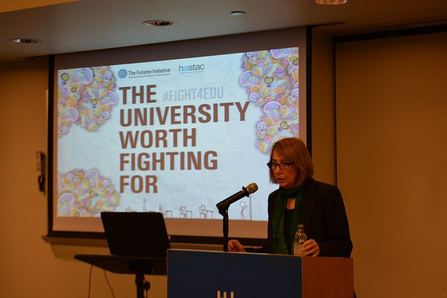 FI Director Cathy N. Davidson kicks off the conversation