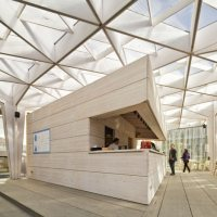The World Design Capital Helsinki 2012 Pavilion - Aalto University Wood Studio students