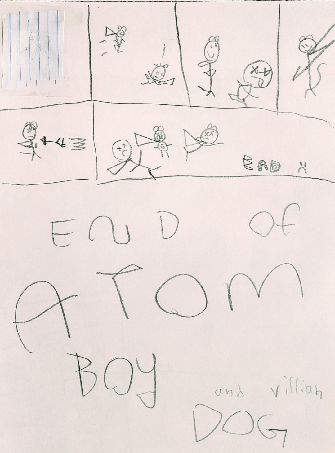 Atom Boy Ends