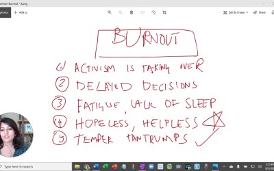 Know The Signs Of Burnout. Play A Scalable And Sustainable Game In Life. (Video)