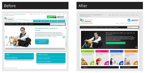 K3 Business Solutions - Before and After