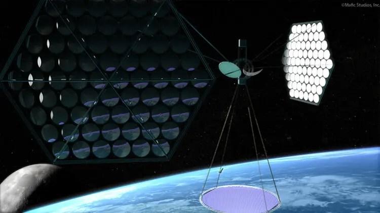 Risultato immagine per orbital solar power