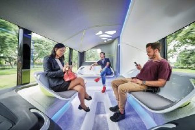 IAA Preview 2016 Daimler Buses; Mercedes-Benz Future Bus mit Cit