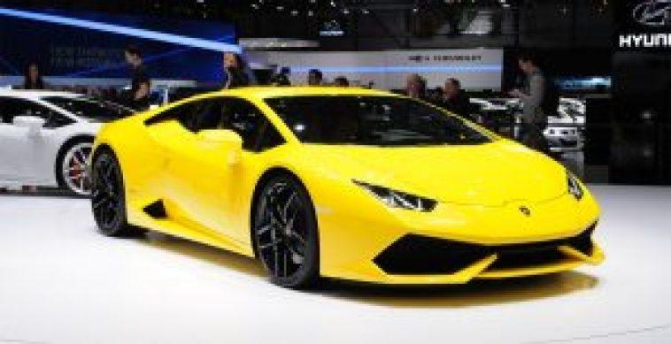 Lamborghini Huracán, no Salão de Genebra
